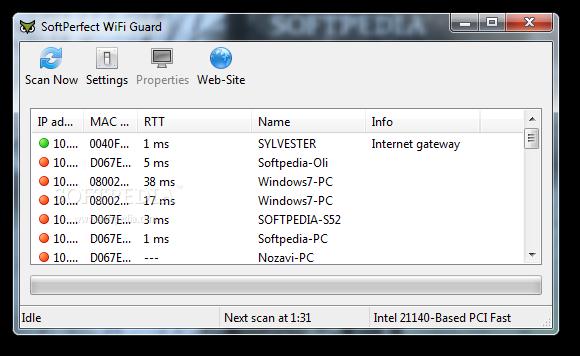 Descargar WiFi Guard: saber quien nos roba WiFi