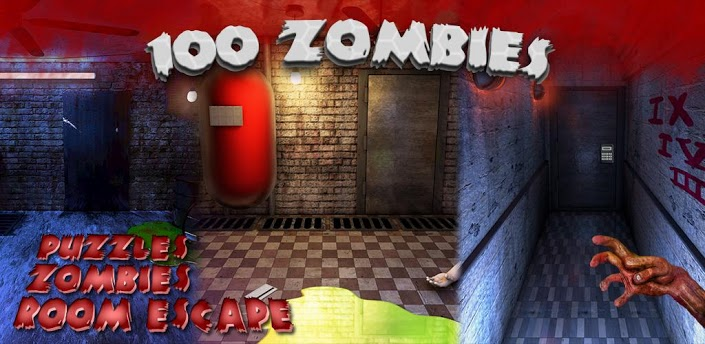 100 zombies room escape