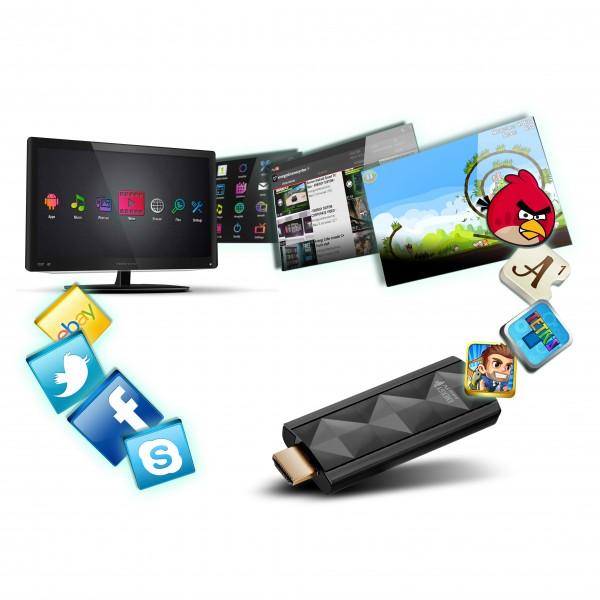 Energy Android TV Dongle le da inteligencia al televisor