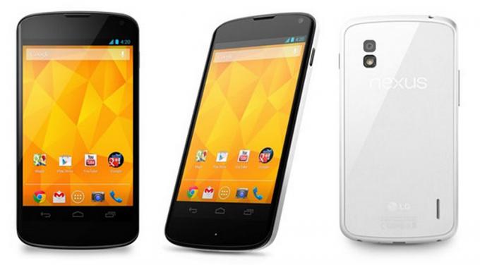 El Nexus 4 ahora en color blanco dice LG