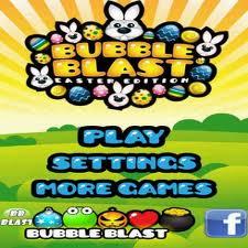 Bubble Blast Easter, un juego para Pascua