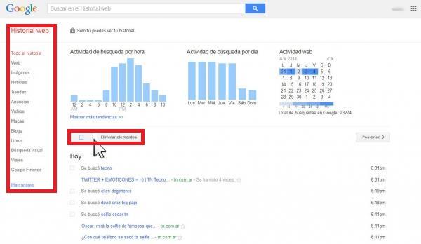 Facebook, Twitter y Google, ¿Cómo borrar sus búsquedas?