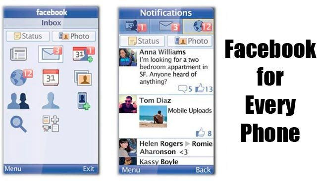 instalar facebook en telefonos java