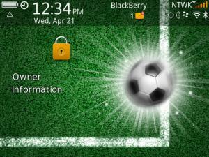 Temas de deportes para Blackberry