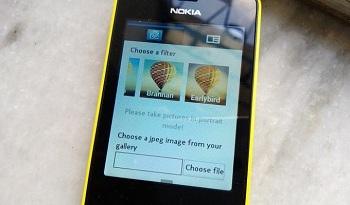 Instagram para Nokia Asha