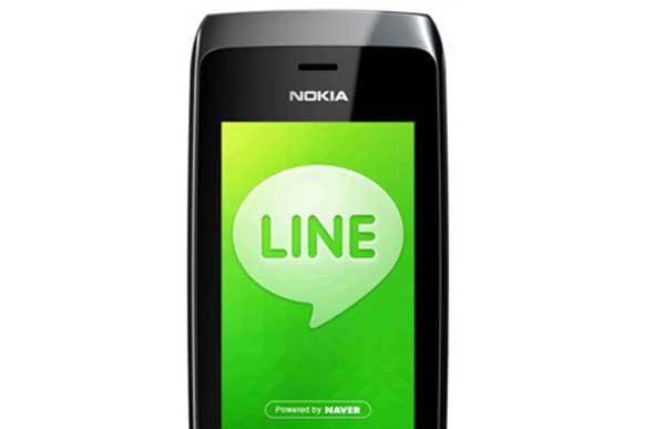 LINE para Nokia Asha gratis