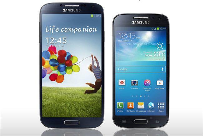 smartphones samsung galaxy s5 y s4