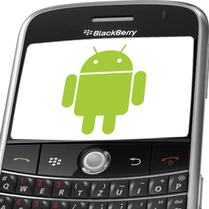 Cómo instalar apps Android en Blackberry