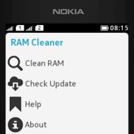 Descargar RAM Cleaner para Nokia Asha