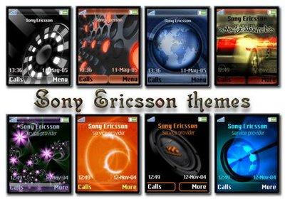 Temas gratis para Sony Ericsson