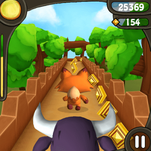 Descargar 3D Fox Run para Nokia Asha