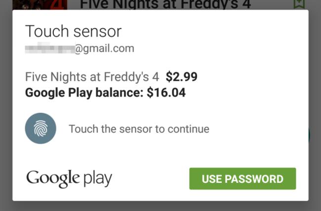 google-play-huella